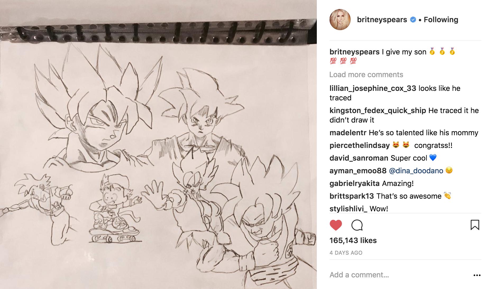 britney spears instagram 2