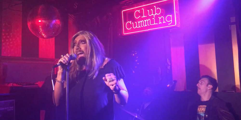 This Bearded Queen Performed Fergie's National Anthem Last Night at Club Cumming (Video)