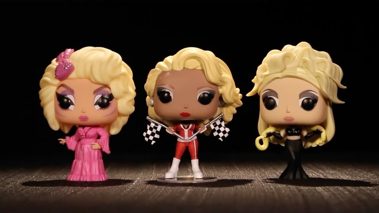 funko pop drag race