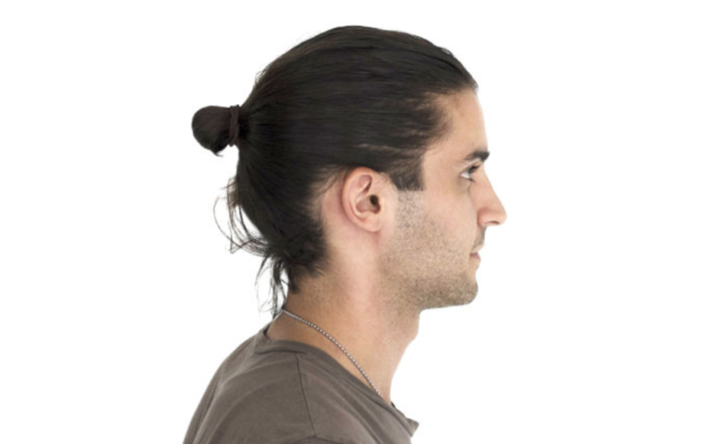 offensive hair do man bun