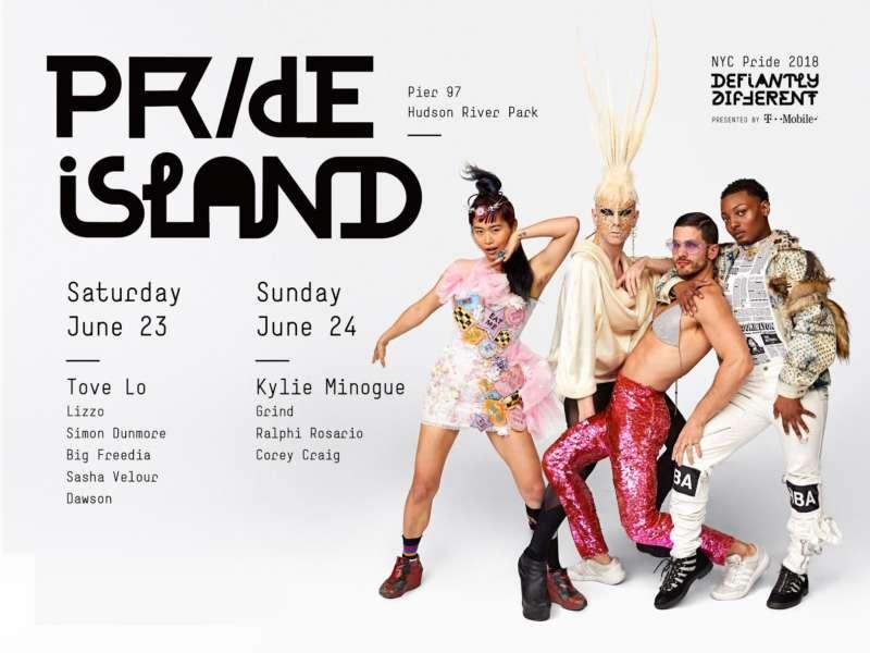 kylie minogue pride island