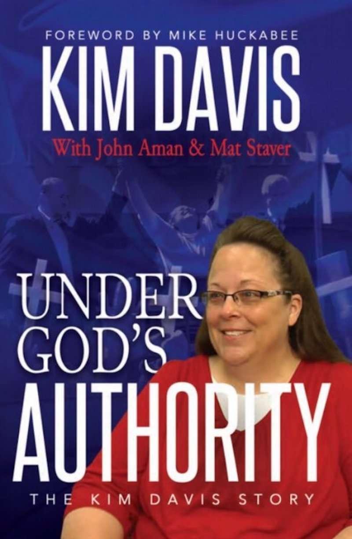 Kim Davis memoir cover