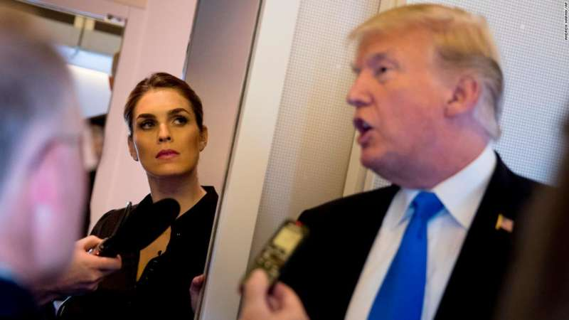 who is hope hicks 3