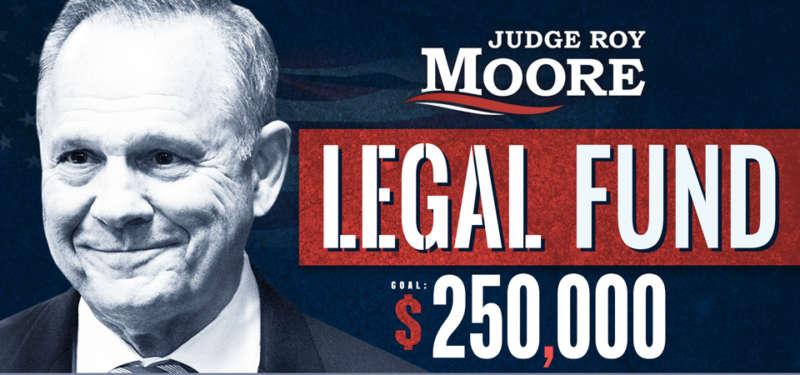 Roy Moore money beg 01