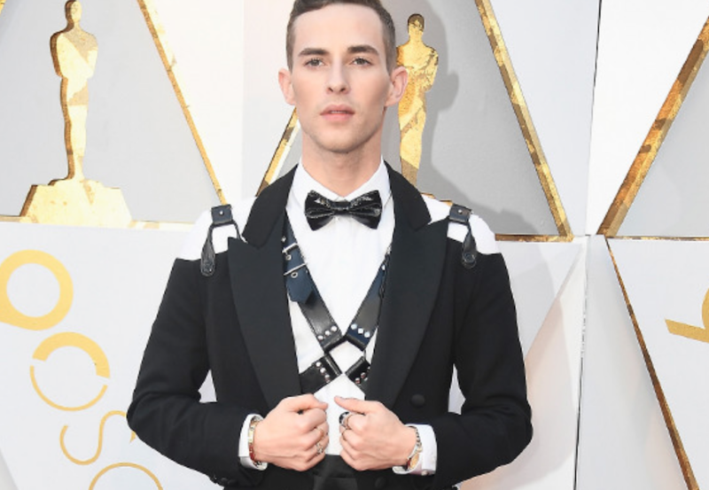oscar fashion adam rippon