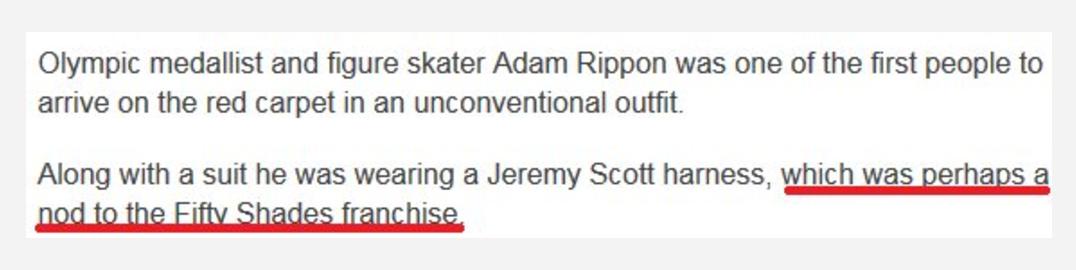oscars harness BBC
