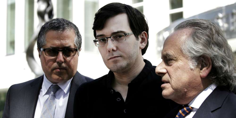 'Pharma Bro' Martin Shkreli Broke Down in Court as He Was Sentenced to 7 Years in Prison