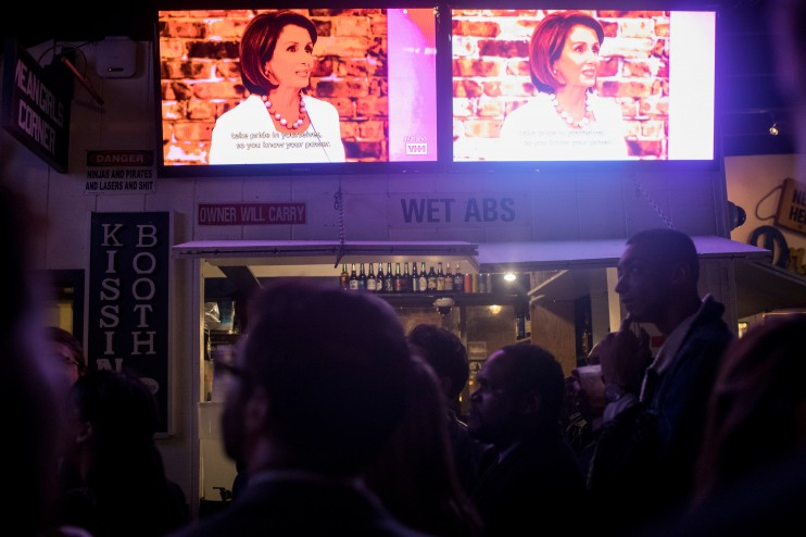 nancy pelosi drag race bar
