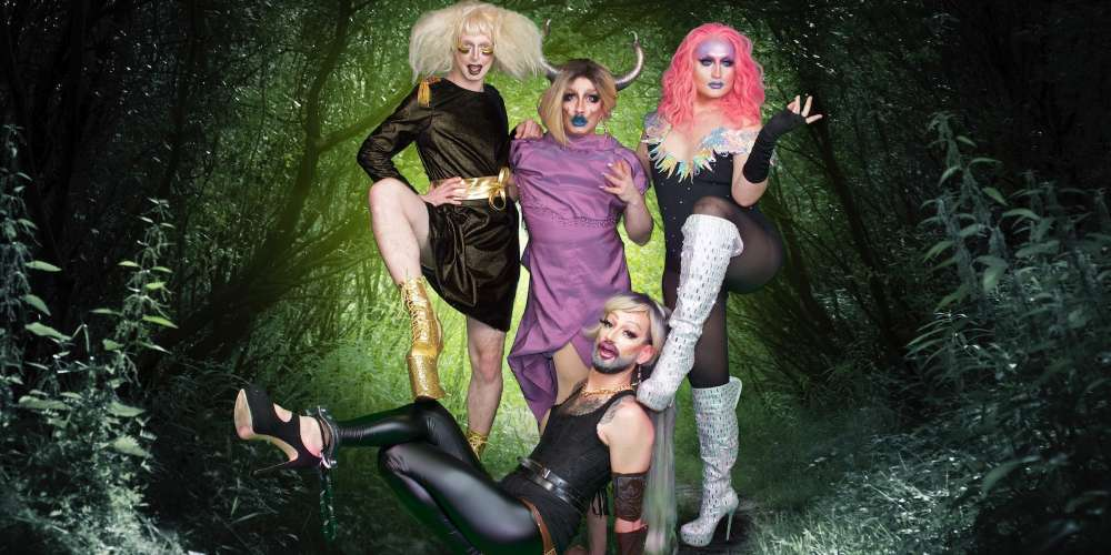 Drag Meets Dungeons & Dragons on a Brand-New Podcast Called 'Queens of Adventure'