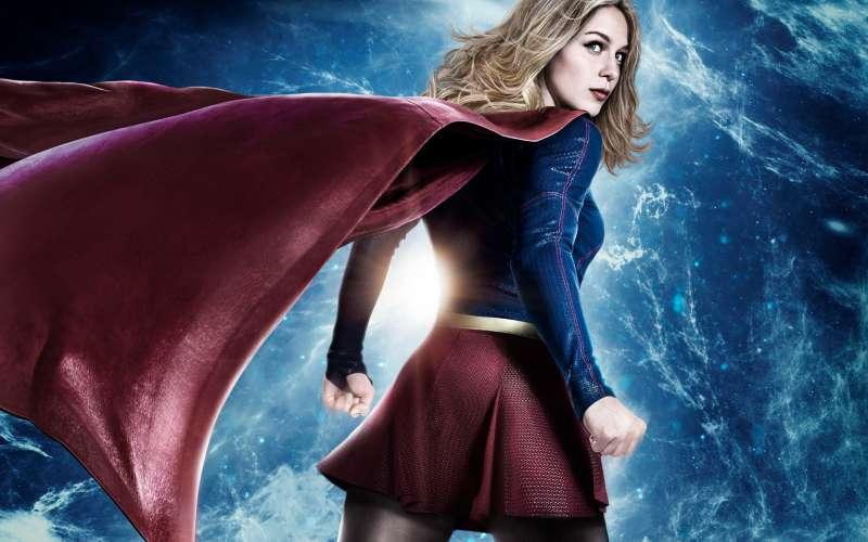 dc superhero show supergirl