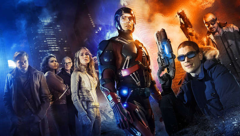 dc superhero show legends of tomorrow