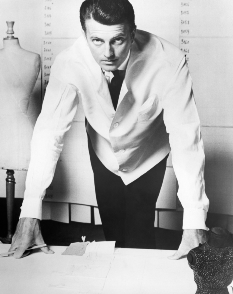givenchy white lab coat