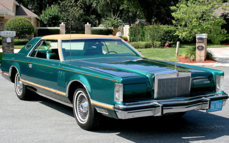 givenchy ford lincoln continental mark v