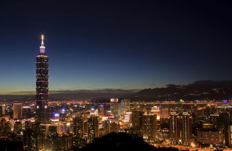 taiwan guide taipei skyline