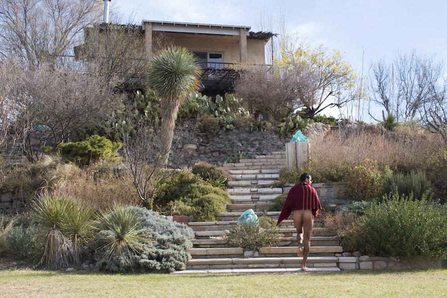 marfa west texas house on the hill