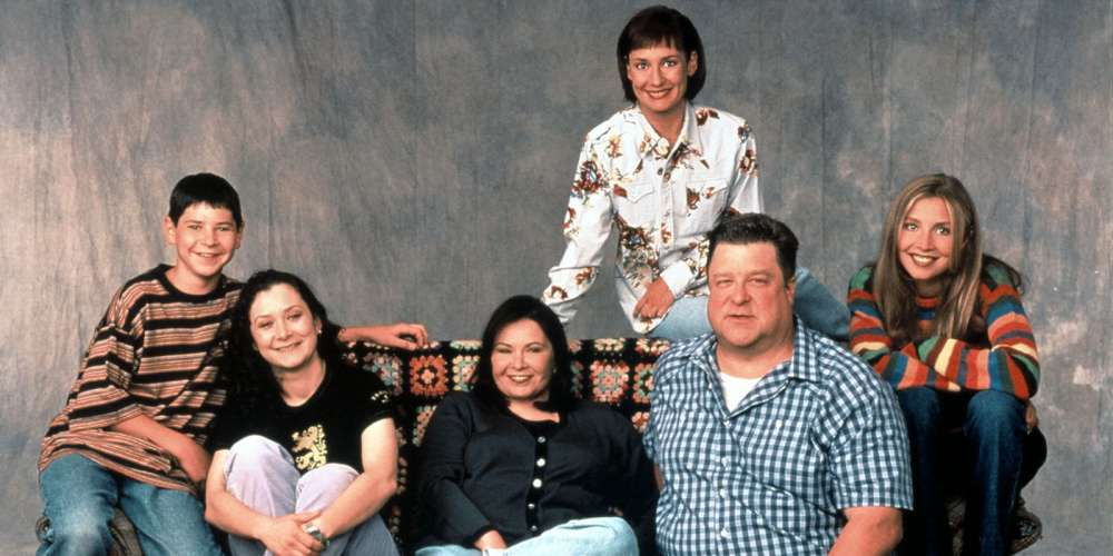 roseanne cast photo roseanne lesbian kiss