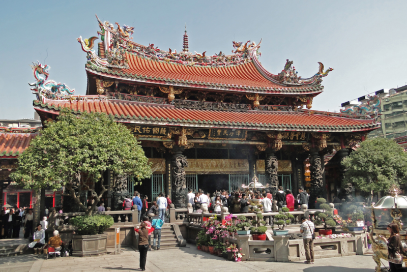 taiwan travel guide long shan temple