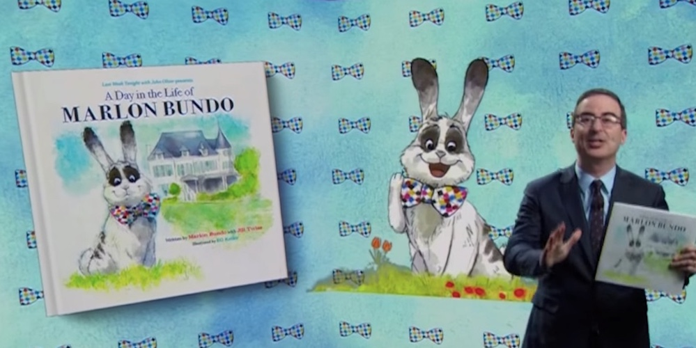 John Oliver Trolls VP Pence by Releasing a Children's Book About His Gay Pet Rabbit