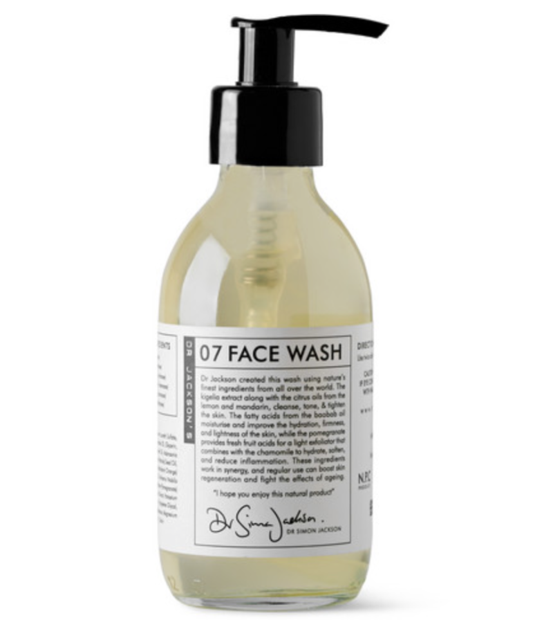 grooming products face wash