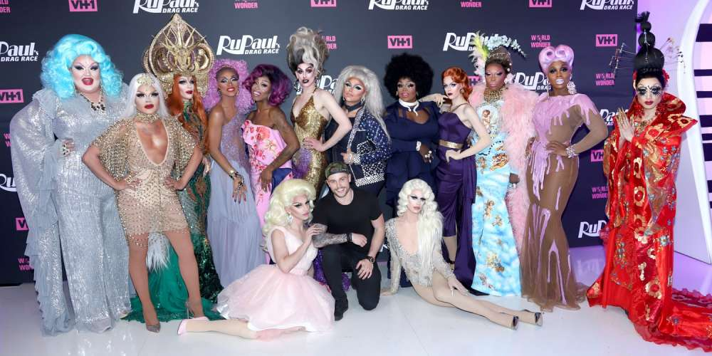 These Pics From Last Night's 'Drag Race' Premiere Party Have Us Excited for Season 10