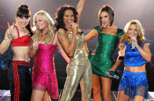 Spice Girls cartoon 01, girl superhero groups 01, female superhero groups 01