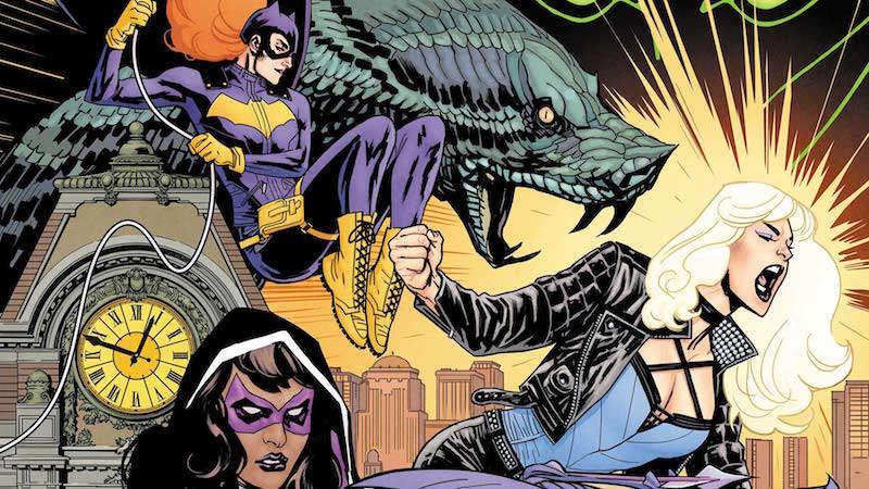 Batgirl and the Birds of Prey, girl superhero groups 08, female superhero groups 08