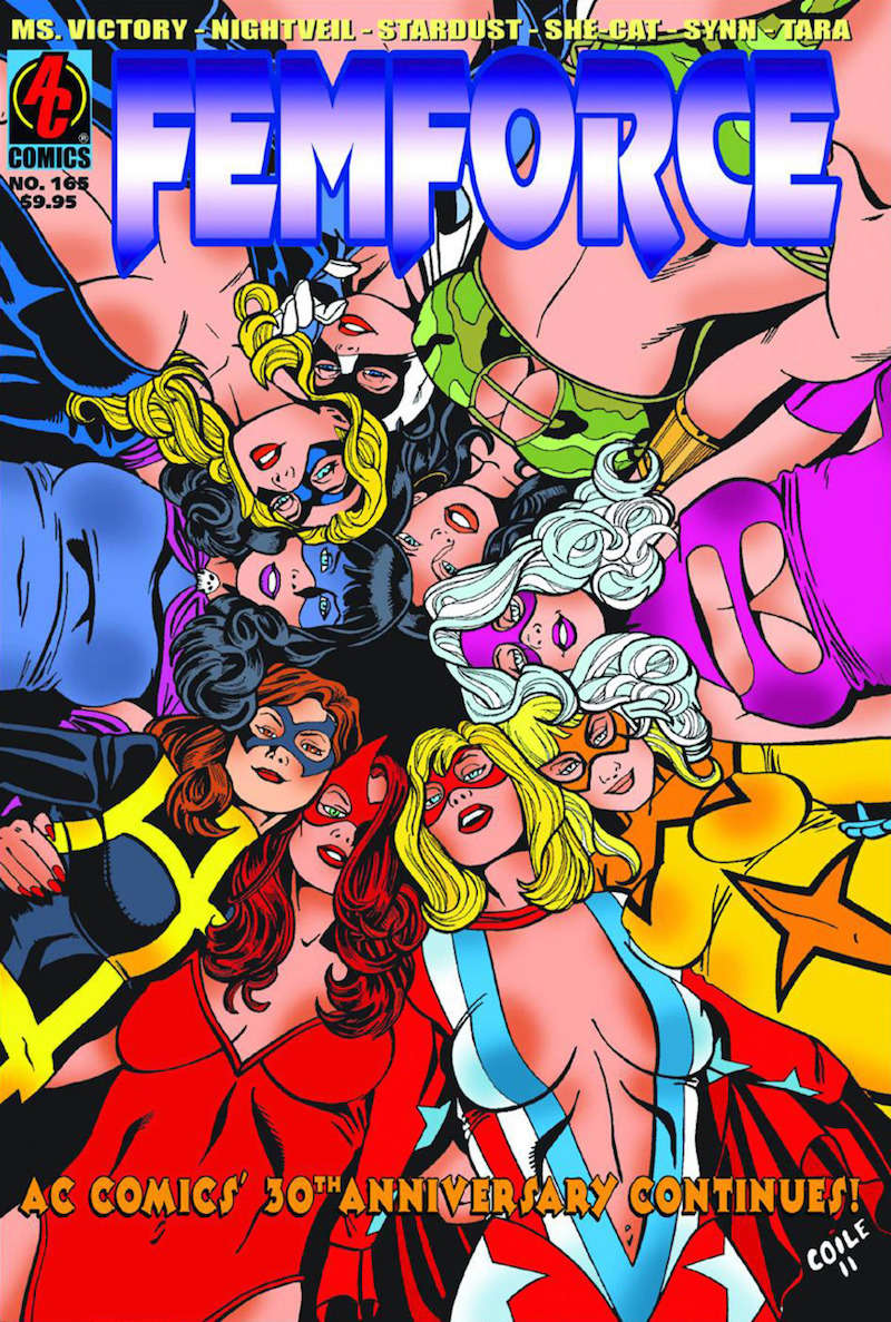 Femforce, girl superhero groups 07, female superhero groups 07