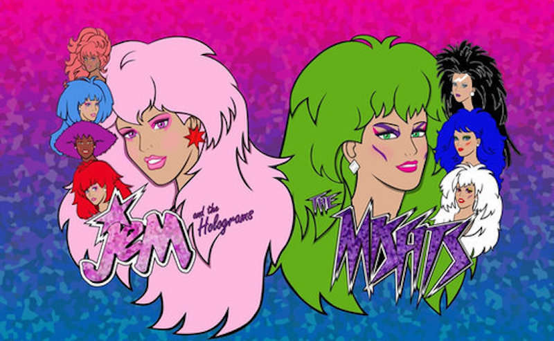 Jem and the Holograms, the Misfits, Spice Girls 01, girl superhero groups 05, female superhero groups 05