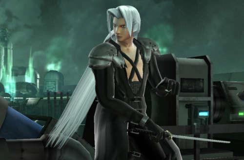 transgender video game characters 01, Sephiroth Final Fantasy VII