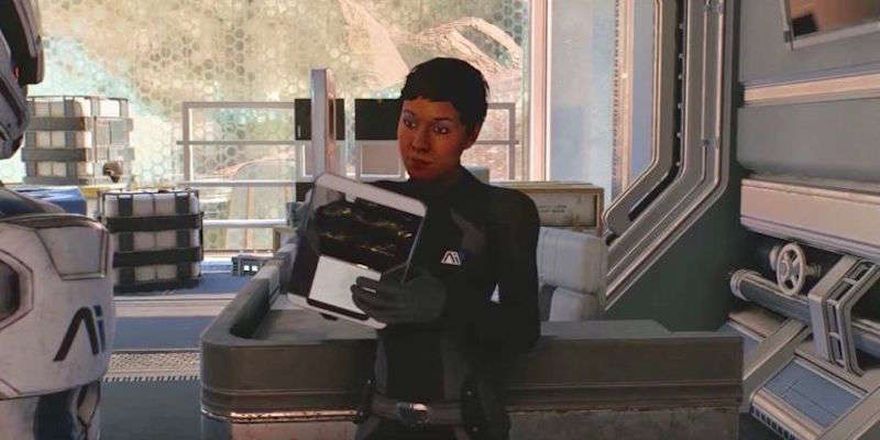 transgender video game characters 02, Hainley Adams Mass Effect