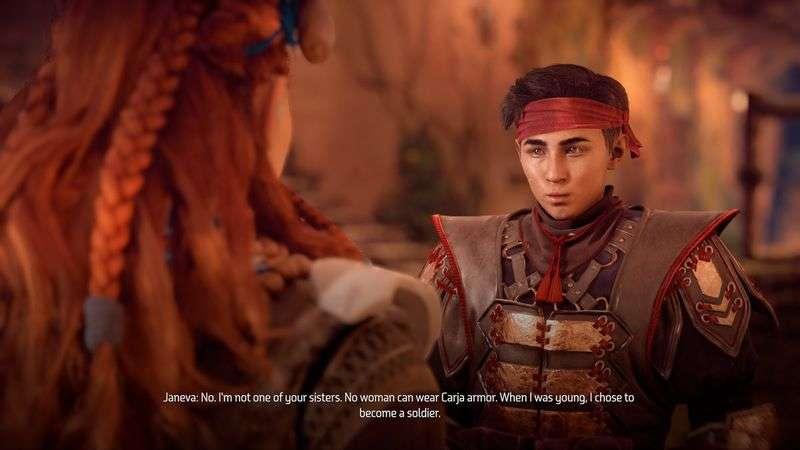 transgender video game characters 03, Jeneva Horizon Zero Dawn