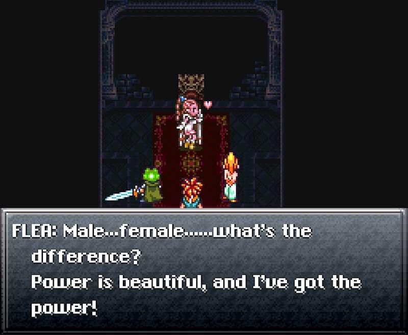 transgender video game characters 06, Flea Chrono Trigger