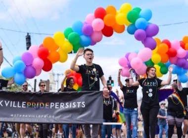 Starkville Pride parade