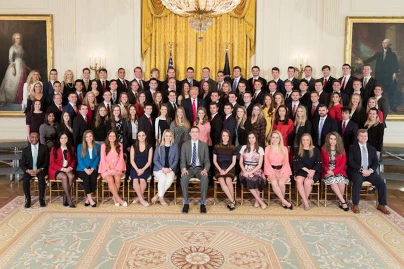 white house interns trump
