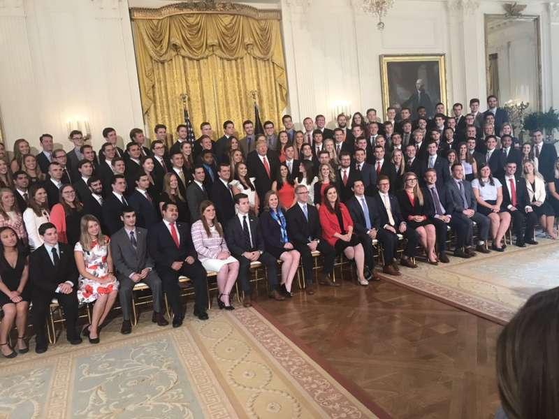 white house interns last year