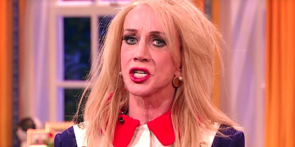 Kathy Griffin Earns 10s Across the Board for a Pitch-Perfect Kellyanne Conway Impersonation