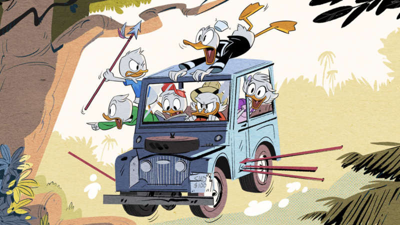 ducktales tv reboots