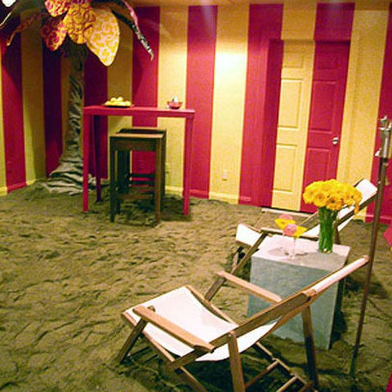 trading spaces heidi floor sand