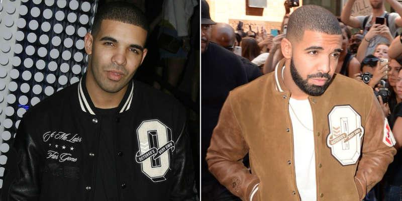 Celebrity beards drake