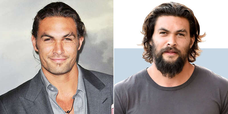 Celebrity beards momoa