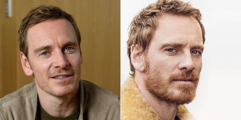 Celebrity beards fassbender