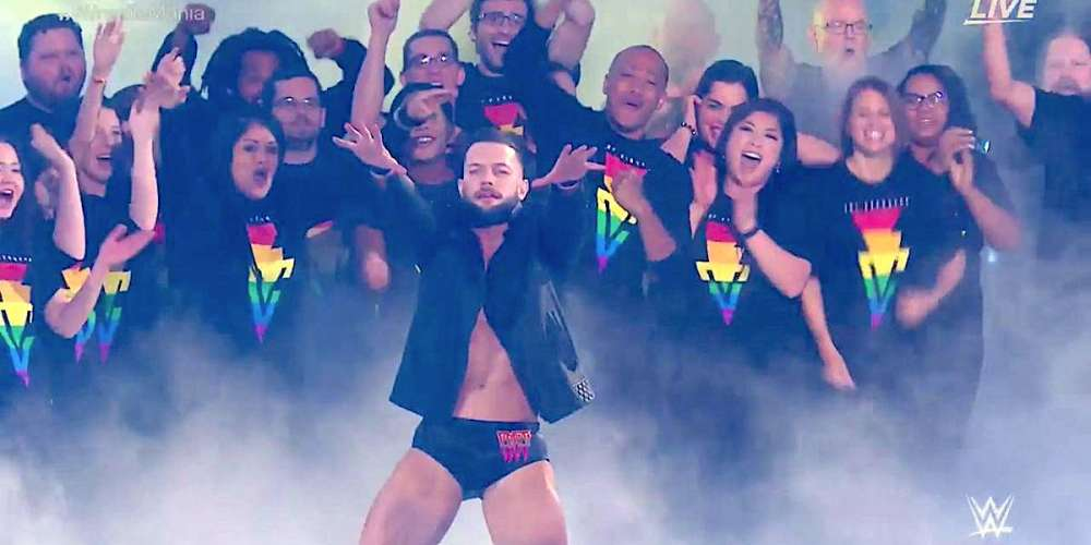 This Pro Wrestler Just Made History by Incorporating LGBTQ Fans Into His Wrestlemania 34 Entrance