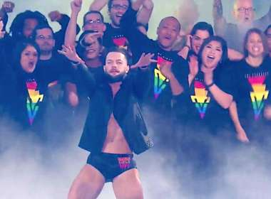 Finn Bálor LGBTQ wrestlemania teaser