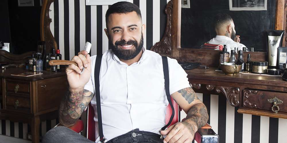 Is Hornet's Brazilian Man of the Month for April the World's Sexiest Barber?