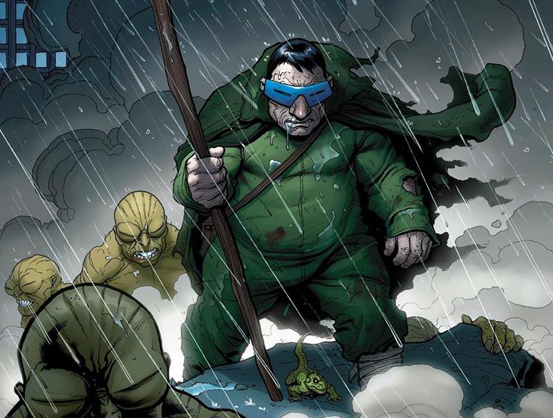 worst superhero costumes mole man