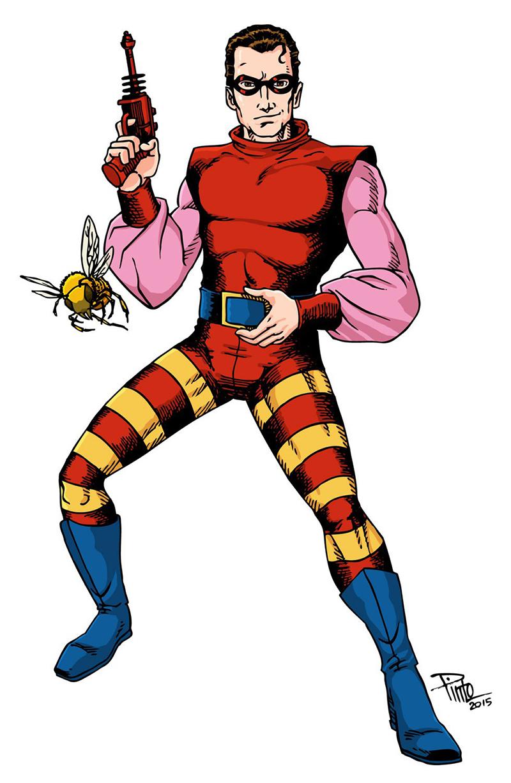 worst superhero costumes red bee