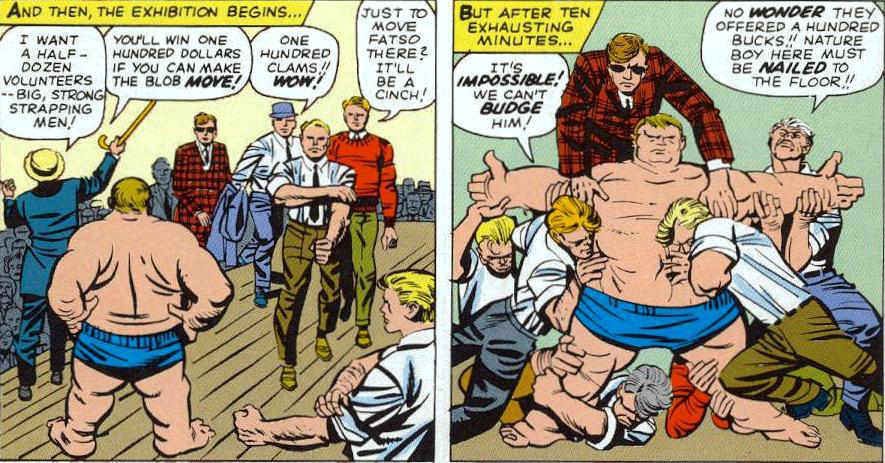 worst superhero costumes the blob