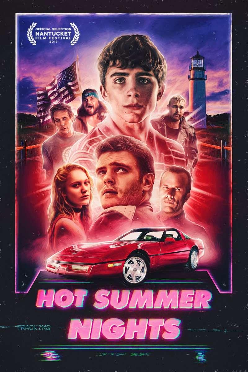 hot summer nights poster new timothée chalamet film
