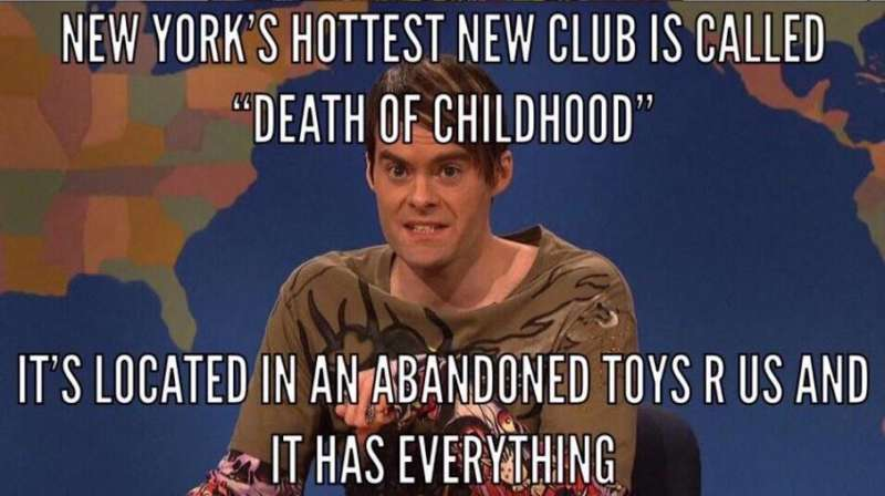 toys r us rave club kid culture stefon