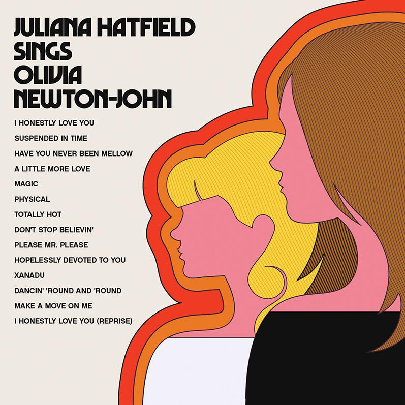 Juliana Hatfield Sings Olivia Newton-John album cover